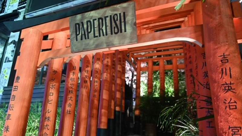 Paperfish, a new sushi bar, opens in Miami's Brickell area.