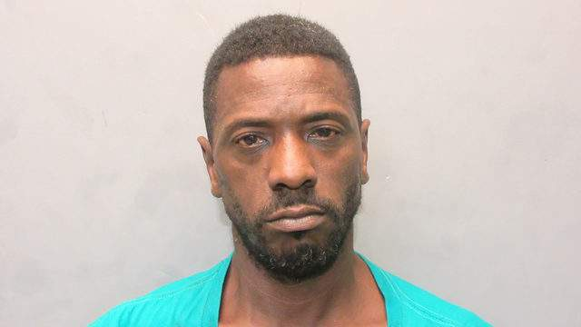 Derek McKinley, 47, had about 5 grams of cocaine in a plastic box, deputies said.