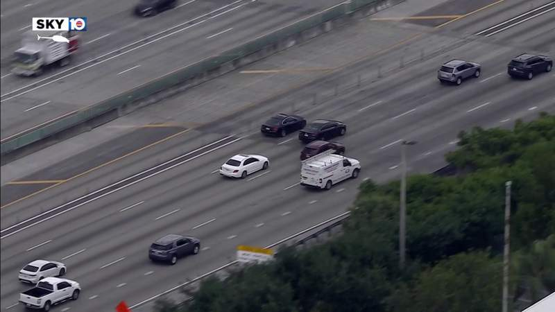Driver gets away after car chase from Miami to Dania Beach