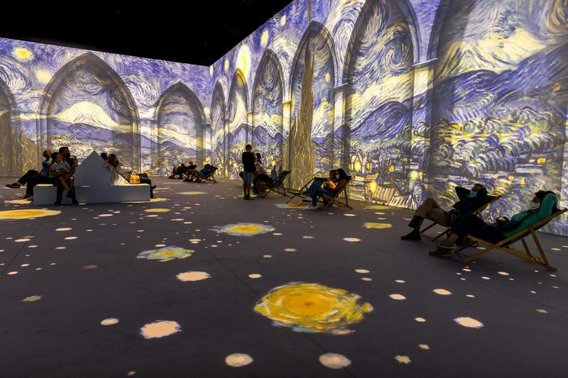 'Van Gogh: The Immersive Experience' opens Wednesday, June 16 at the Olympia Theater.