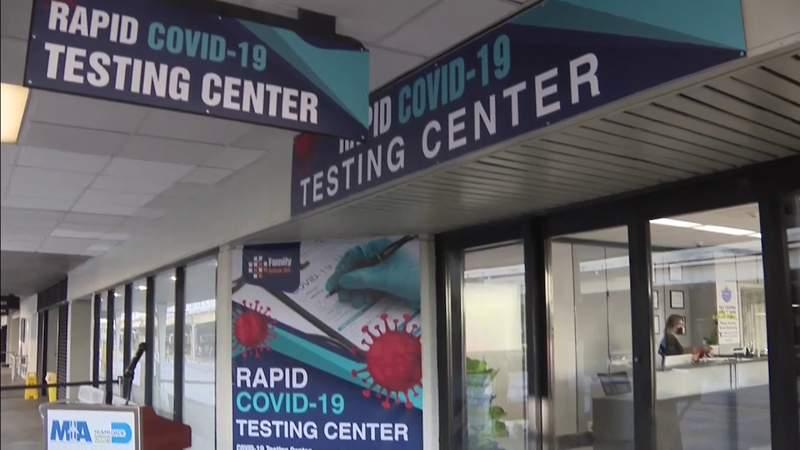COVID-19 testing facility opens at Miami International Airport