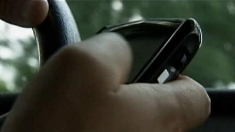 Texting while driving one of many new laws taking effect