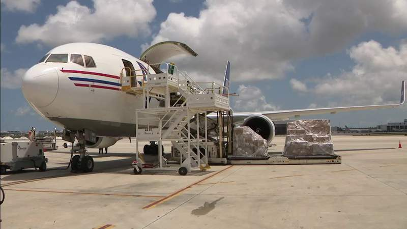 Passenger traffic may be down at MIA, but cargo traffic is soaring