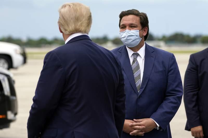 A medida que la pandemia disminuye, DeSantis de Florida se apodera del escenario nacional