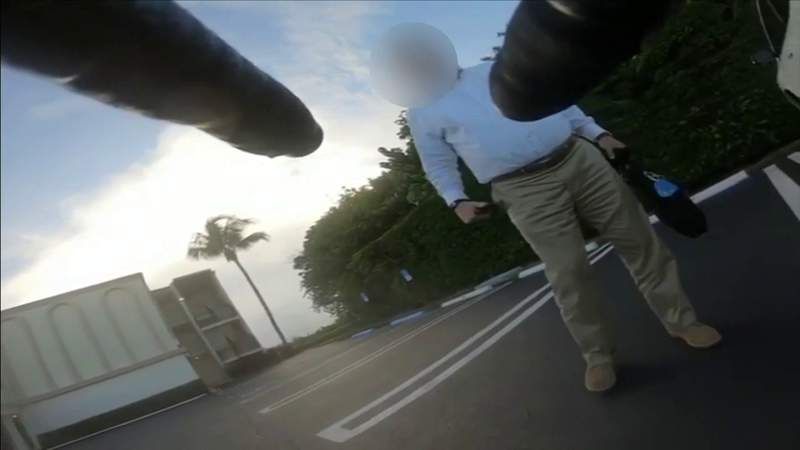 Heated confrontation between cyclists, driver caught on camera
